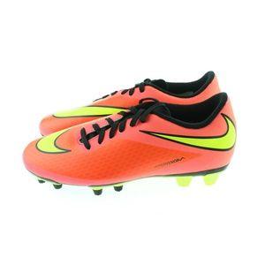 Mens HyperOrange Hypervenom FG Soccer Cleats Shoes